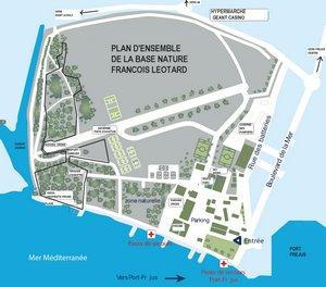 Plan De L Ville De St Aygulf