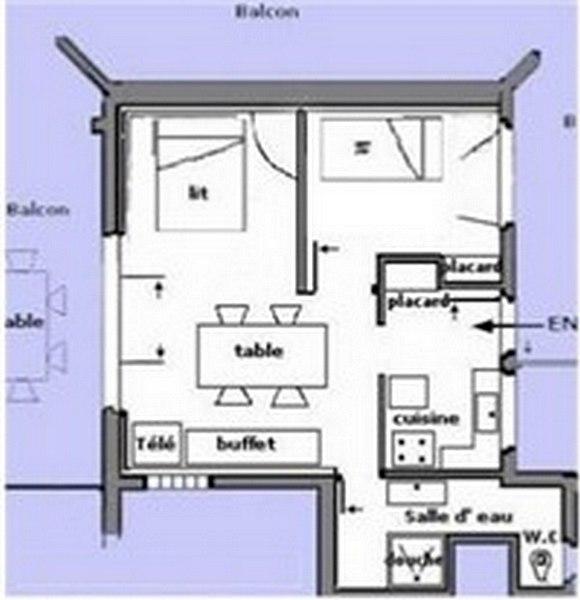 Location Appartement Boulouris