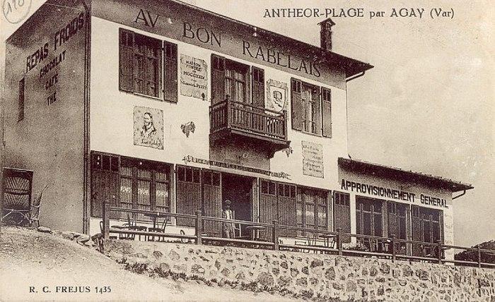 anth or saint raphael cartes postales anciennes le bon rabelais d 39 anth or. Black Bedroom Furniture Sets. Home Design Ideas