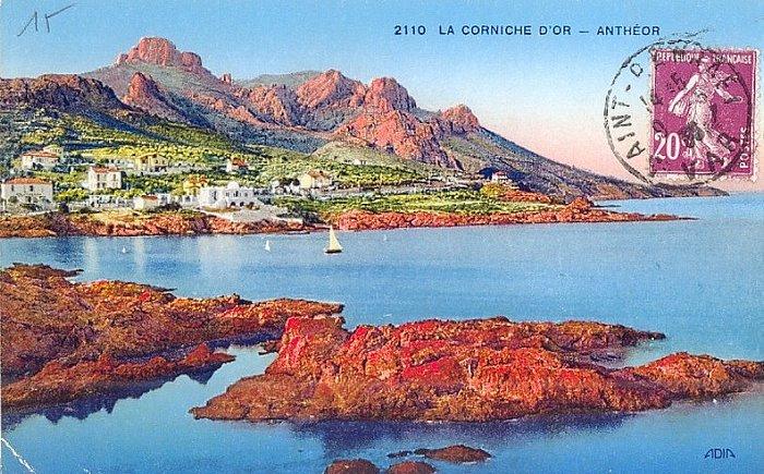 Anth or saint raphael cartes postales anciennes la - Office du tourisme frejus saint raphael ...