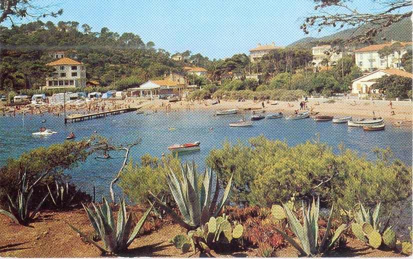 le dramont saint raphael cartes postales dramont plage camp long. Black Bedroom Furniture Sets. Home Design Ideas
