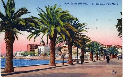 Saint raphael cartes postales anciennes f lix martin du - Office du tourisme frejus saint raphael ...