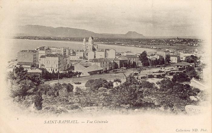 Saint raphael cartes postales anciennes la ville for La table saint raphael