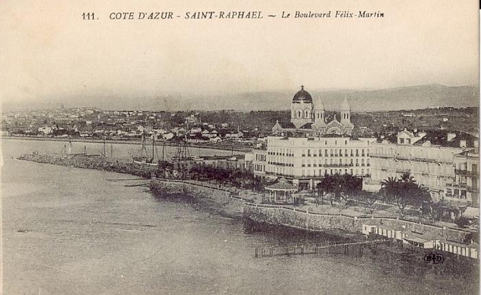 Saint Raphael Cartes Postales Anciennes Le Port