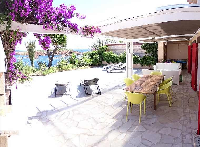 Holidays Home cottage waterfront Antheor saint Raphael cote d'azur.